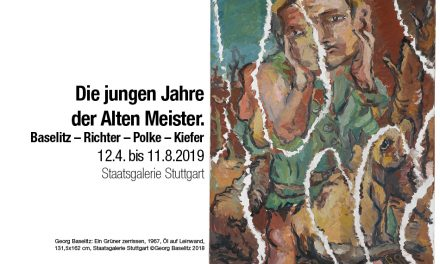 Die jungen Jahre der Alten Meister. Baselitz – Richter – Polke – Kiefer