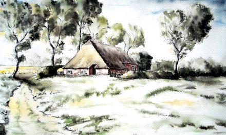 Elma Ihbens Weg zur Kunst: Von der Federzeichnung zur Gouachemalerei