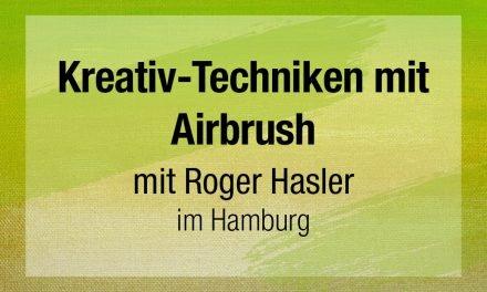 Erweitern Sie Ihre Kreativ-Techniken mit Airbrush