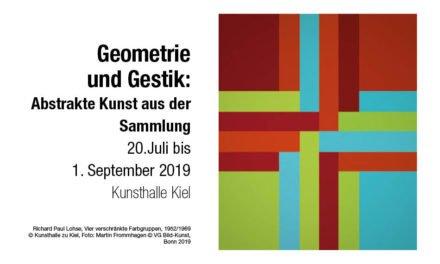 Geometrie und Gestik: Abstrakte Kunst aus der Sammlung