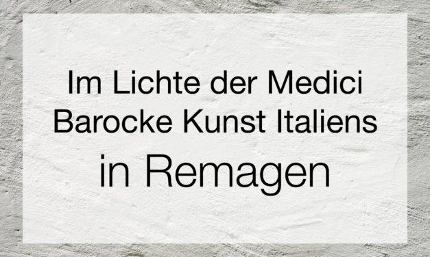Im Lichte der Medici – Barocke Kunst Italiens