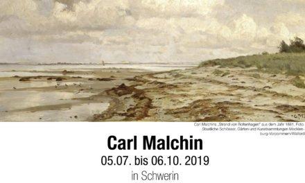Carl Malchins Landschaftsmalerei