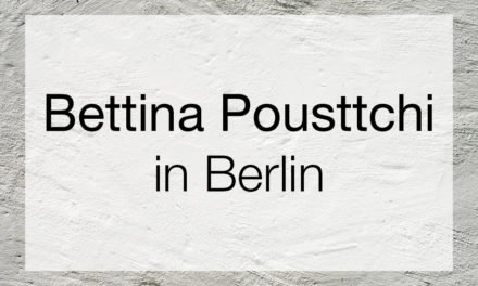 Bettina Pousttchi – In Recent Year