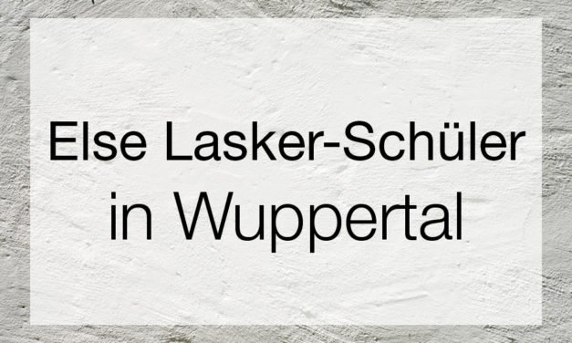 """Else Lasker-Schüler – """"Prinz Jussuf von Theben"""" und die Avantgarde"""