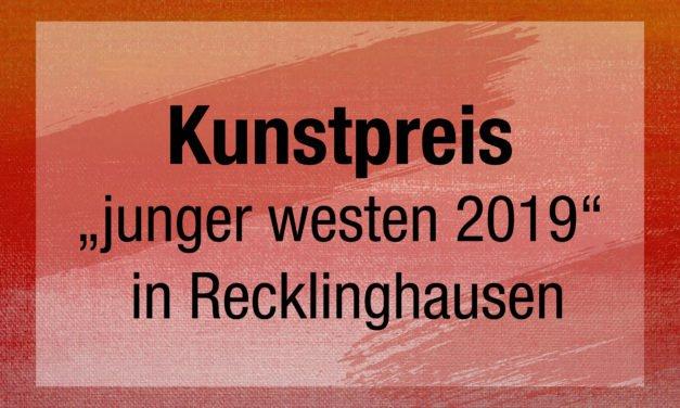 """Kunstpreis """"junger westen 2019"""" Malerei"""
