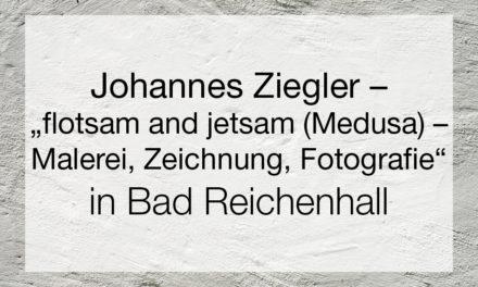 "Johannes Ziegler – ""flotsam and jetsam (Medusa)- Malerei, Zeichnung, Fotografie"""