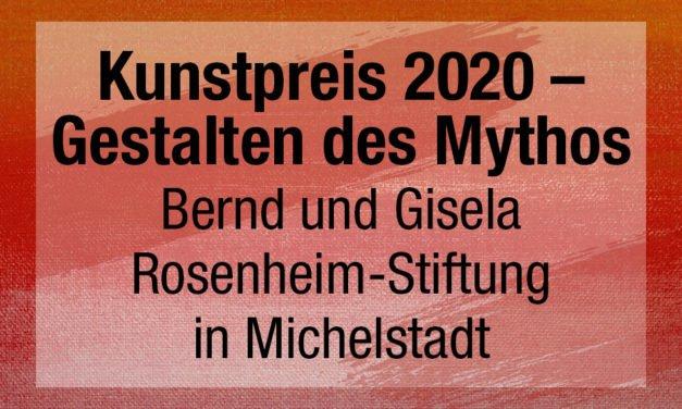 Kunstpreis 2020 – Gestalten des Mythos