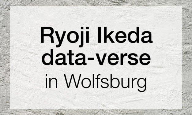 Ryoji Ikeda data-verse