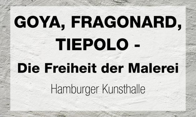 GOYA, FRAGONARD, TIEPOLO – Die Freiheit der Malerei