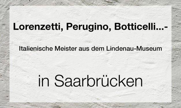 Lorenzetti, Perugino, Botticelli… – Italienische Meister aus dem Lindenau-Museum Altenburg