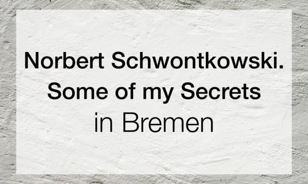 Norbert Schwontkowski. Some of my Secrets