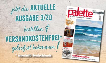 palette 3/2020 – ab sofort erhältlich