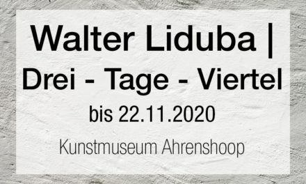 Walter Libuda. Drei-Tage-Viertel