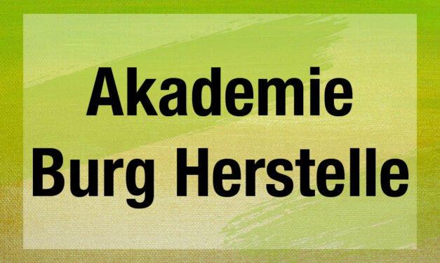 Akademie Burg Herstelle