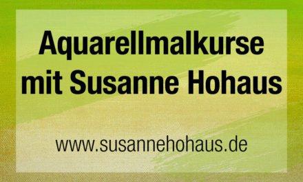 Aquarellmalkurs mit Susanne Hohaus