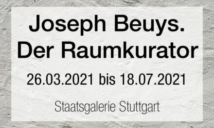Joseph Beuys. Der Raumkurator