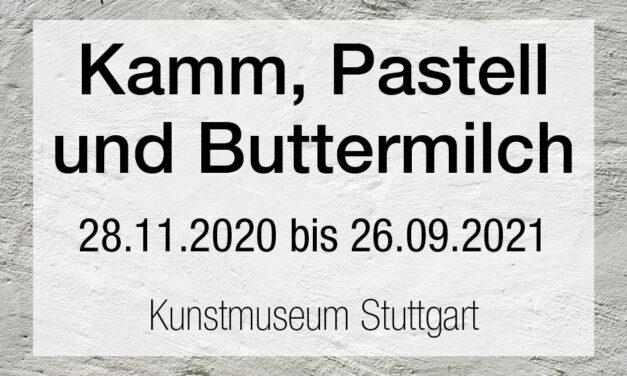Kamm, Pastell und Buttermilch