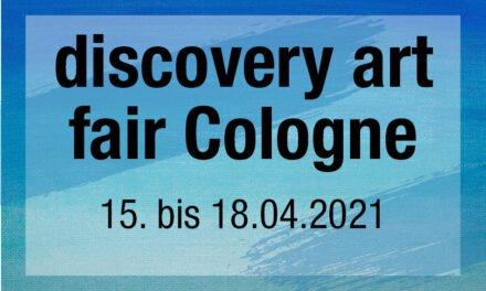 discovery art fair Cologne • Die Entdeckermesse für zeitgenössische Kunst