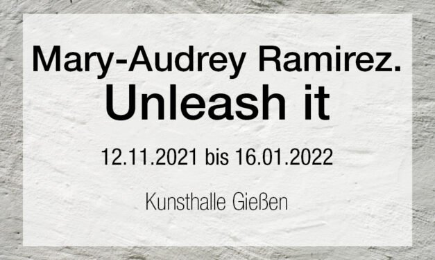 Mary-Audrey Ramirez. Unleash it